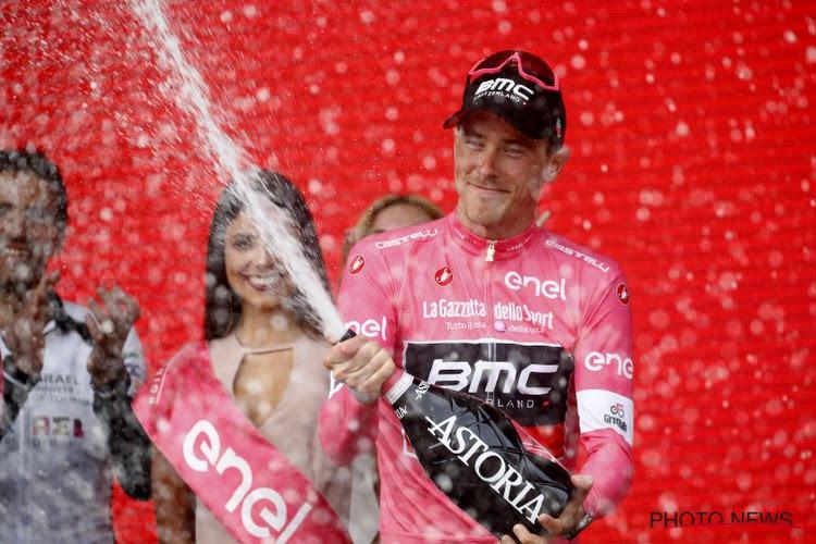 Waarom deze roze trui van Rohan Dennis extra bijzonder is voor de Australiër van BMC