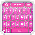 Pink Glitter Keyboard icon