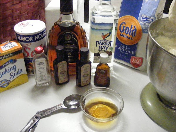 Pound Cake With Coconut And Rum Flavorings