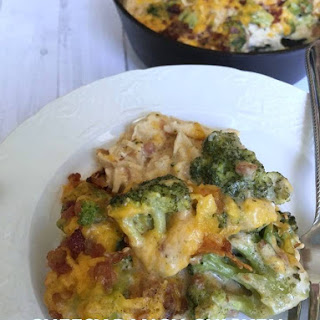 Cheesy Ranch Chicken & Broccoli {Keto & Low Carb Friendly}.