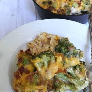 Cheesy Ranch Chicken & Broccoli {Keto & Low Carb Friendly}.