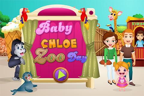 Baby Chloe Zoo Day