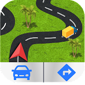 GPS Navigation, Map Directions