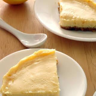 Healthy Creamy Lemon Pie.