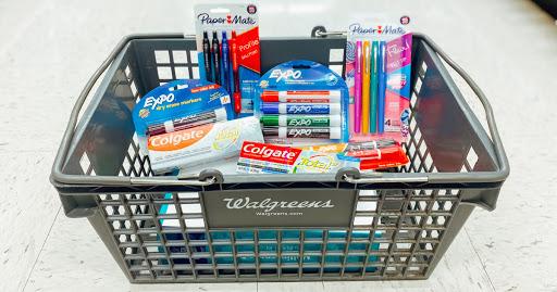 Best Walgreens Weekly Ad Deals 7/4-7/10 (FREE Toothpaste, BOGO School Supplies, & More)
