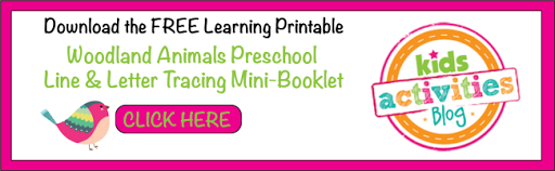 Get the FREE Woodland Creature Line and Letter Tracing Packet