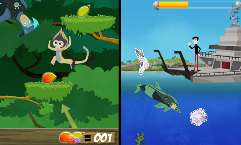 Wild Kratts World Adventure- screenshot