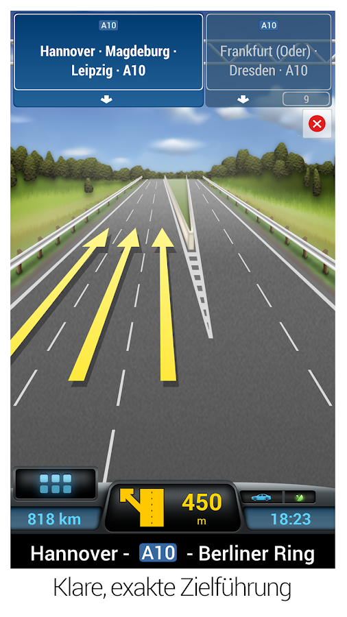 CoPilot GPS - Navi-App – Screenshot