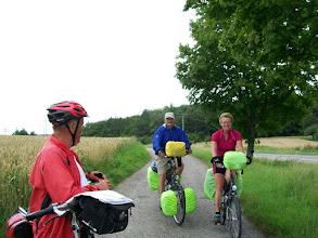 Photo: 7e Dag, woensdag 22 juli 2009 Shellbronn -Melchingen Dag afstand: 81,6 km. Totaal gereden: 664 km Bob en Rianne
