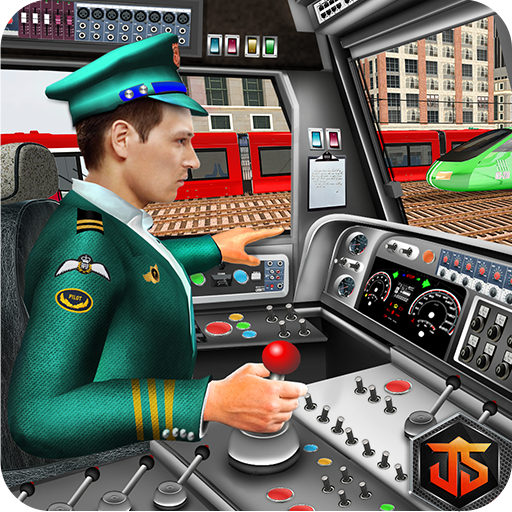 City Train Driving Sim 2018: Train Driving Games