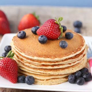 Cottage Cheese Protein Pancakes for Kids.