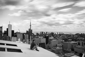 Photo: Time Stands Still For 61 seconds, time stood still. Photo assisted by the talented Dr. +Ronnie Yip.  #toronto  #rooftopping #longexposure #ndfilter #urbex #urbanexploration