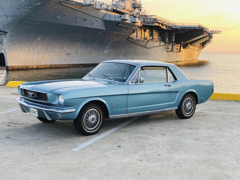 Ford Mustang Hire San Francisco