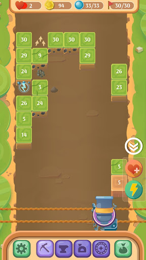 Break Block And Brick: Mining Ball 32 screenshots 3