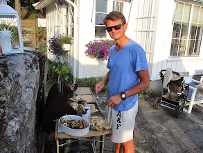 Photo: Martin is grill chef!