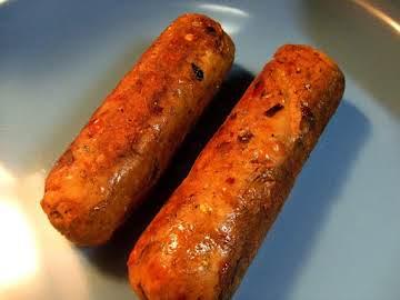 Spicy Italian Vegetarian Sausage