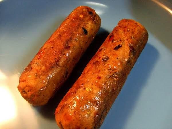 Spicy Italian Vegetarian Sausage Recipe