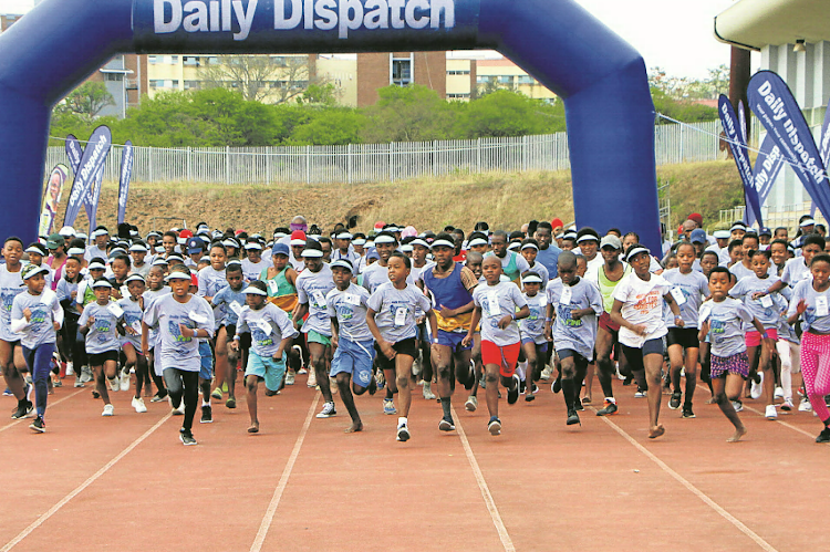 This year's Daily Dispatch Mthatha fun run takes place on October 7 starting at 7am at the Walter Sisulu Sports Grounds