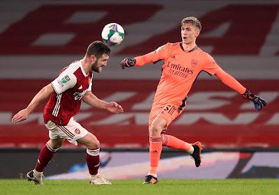 Pijnlijke nederlaag voor Arsenal dat met 1-4 verliest van Manchester City in de EFL Cup