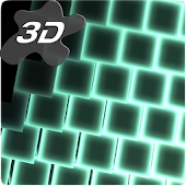 Neon LED Cubes Particles 3D Live Wallpaper