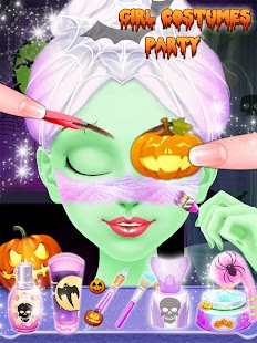 Halloween Girl Costume Party - náhled