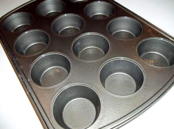 Preheat oven to 350 degrees F. Spray or lightly butter muffin tins.
