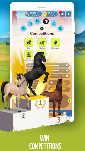 Howrse - free horse breeding farm game 4.0.5 screenshots 6