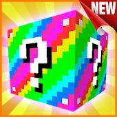 Tải Lucky Block mod for MCPE miễn phí