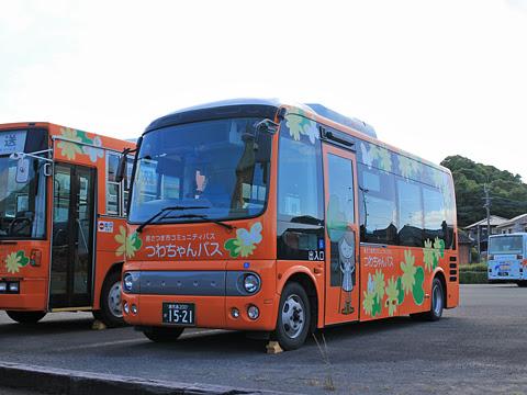 鹿児島交通 南さつま市コミュニティバス「つわちゃんバス」 1521