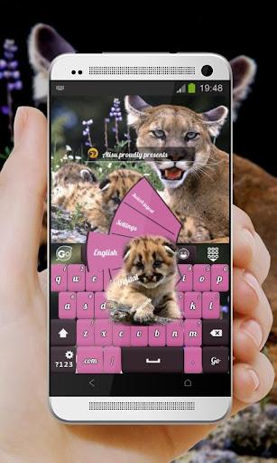 玩免費個人化APP|下載美洲狮 GO Keyboard app不用錢|硬是要APP