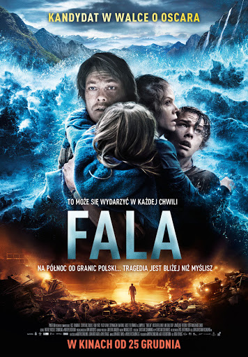 Polski plakat filmu 'Fala'