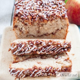 Moist Apple Fritter Bread