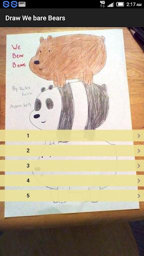 Draw We Bare Bears