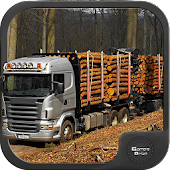 Wood Cargo Transporter 3D