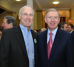 Photo: Dan Goldberg (Bingham McCutchen) and BBA President Paul Dacier.