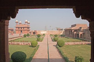 Photo: Fatehpur Sikrin linnoitusta