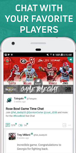 Talegate: Your College Football Community - screenshot