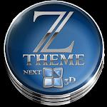 Next Launcher Theme Zaphire 3D Icon