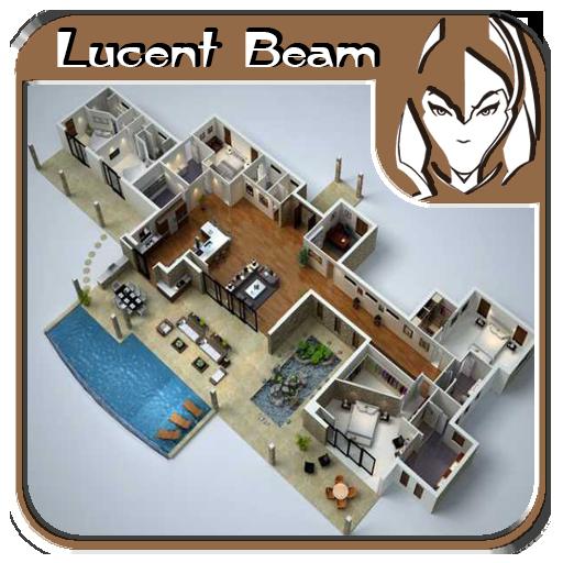 书籍の3Dフロアデザインのアイデア LOGO-記事Game
