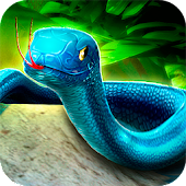 🐍 Jungle Snake Survival Run - Serpent Animal Race
