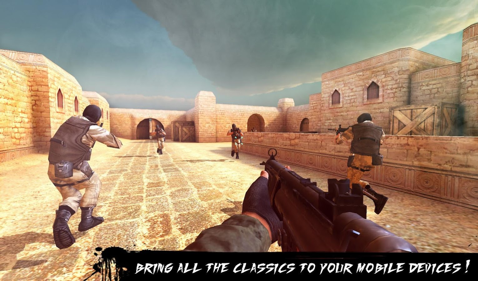 Counter Terrorist 2-Gun Strike- screenshot