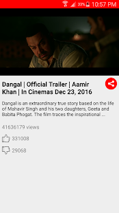 Video song of Dangal screenshot