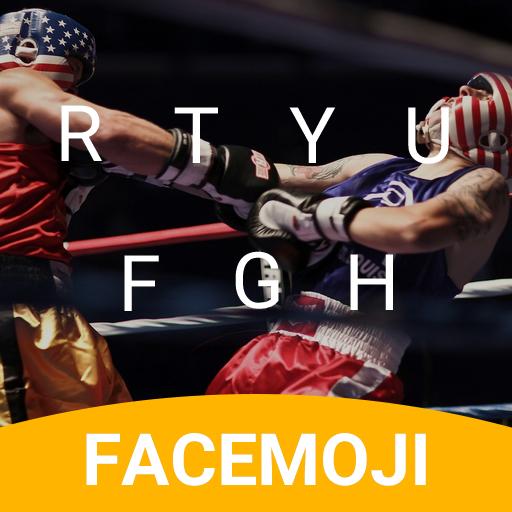 Boxer Fight Emoji Keyboard Theme for McGregor UFC