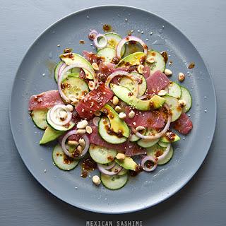 Mariana's Mexican Tuna Sashimi