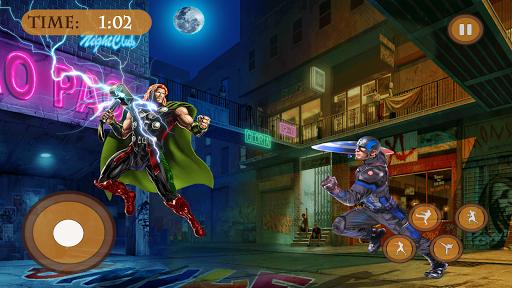 Superhero Fighting Immortal Gods Ring Arena Battle 1.1 screenshots 9
