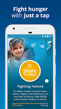 ShareTheMeal - सहायता बच्चों APK screenshot thumbnail 2