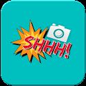 Photo Editor & Stickers:Camera icon