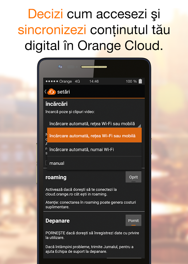 Orange Cloud- screenshot