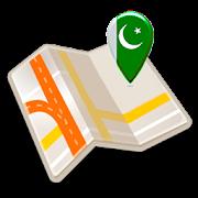 Map of Pakistan offline