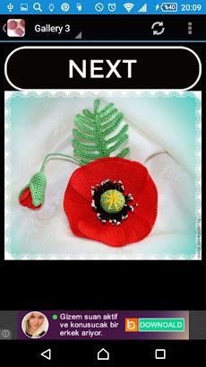 かぎ針編みの花のおすすめ画像2